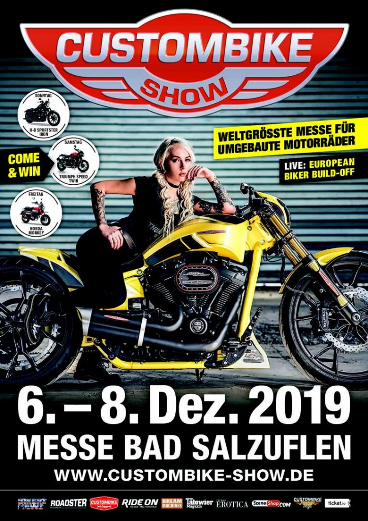 Zu den Bildern: Custombike Show 2019